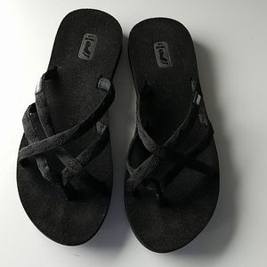 TEVA 6840 Mush Olowahu Strappy Flip Flops